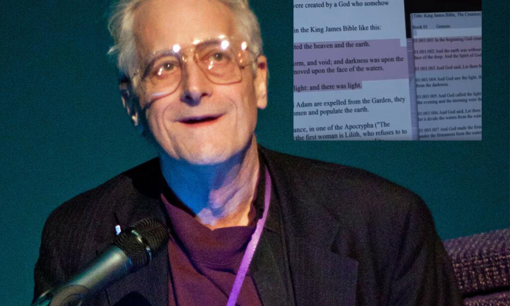 Ted Nelson er i dag 80-år gammel, og jobber fortsatt på sin visjon for dokumentdeling. 📸 Dgies CC BY-SA 3.0