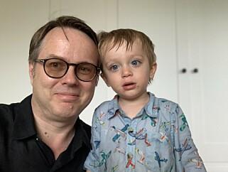 Frode Hegland bor med familien sin i London. 📸: Privat