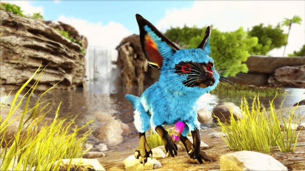 ARK Survival Evolved-modden til Malin Skomsvold, Parados, legger blant annet til nye spillfigurer, som denne. 📸: Malin Skomsvold