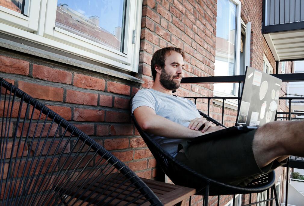 Rafael Winterhalter er utvikler i Scienta, men også aktiv på Java-fronten med blant annet Byte Buddy og Javazone. 📸: Privat