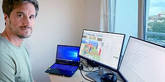 image: Skrev eget rammeverk for pek-og-klikk-spill
