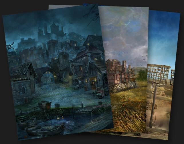 Magnar Sveen har fått hjelp til å lage noe grafikk, selv om det aller meste er ren tekst.