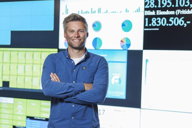 Nicolai Høge er sjef for 140 utviklere i FINN. 📸: Caroline Roka / FINN