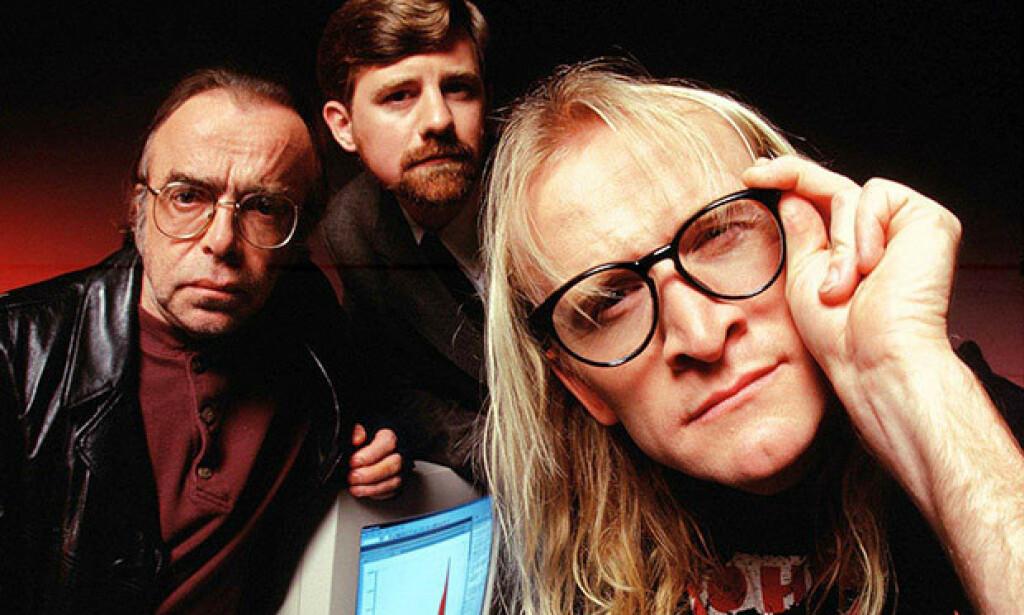 Fitzgerald, Frohike og Ringo. I det som ser ut som hackerverktøyet Excel på Windows 3/11.