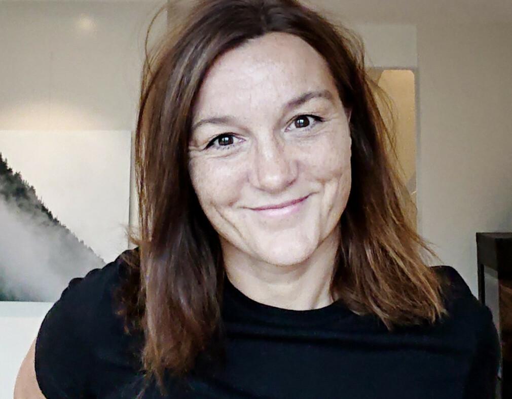Christine Teig driver sitt eget selskap, Ctekk, og har jobbet som utvikler i 18 år. 📸: Privat