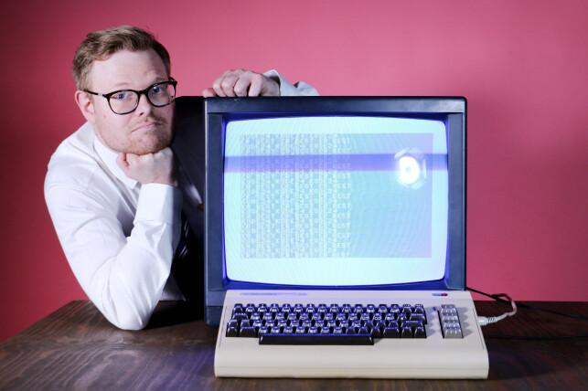 Jørgen Jacobsen er ikke bare kode24s utvikler - han er halve kode24. Hvorfor har ikke flere det sånn? 📸: Ole Petter Baugerød Stokke