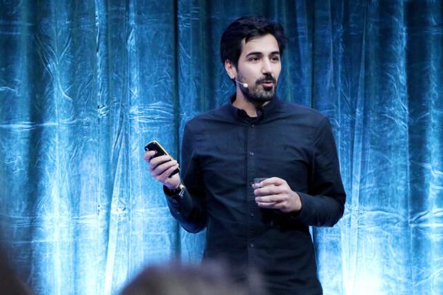 Arash Saidi i Kindly ble overraska over hva han hørte da de endelig fikk prata ordentlig med Norwegian, som brukte systemene deres. 📸: Ole Petter Baugerød Stokke