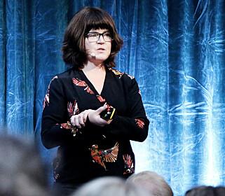 - Man må stoppe å gjøre ting man alltid har gjort, på måter man alltid har gjort dem, mener Beth Stensen. 📸: Ole Petter Baugerød Stokke