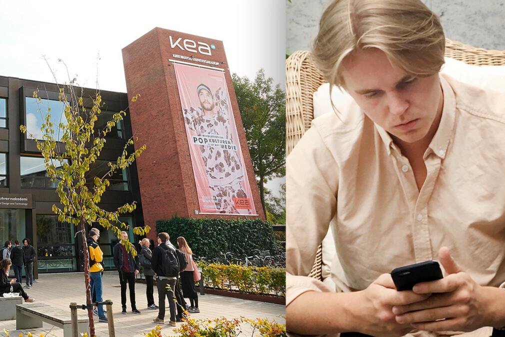 Vetle Ottem Frantzvaag har kodet apper siden tenårene, og studerer nå på Københavns Erhvervsakademi. 📸: Privat