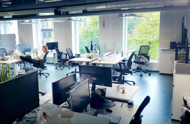 Lokalene rundt Mikael Berg i Just Technologies. 📸: Privat
