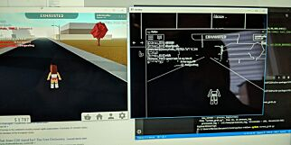 image: Marius lager selvspillende AI-bot 🤖