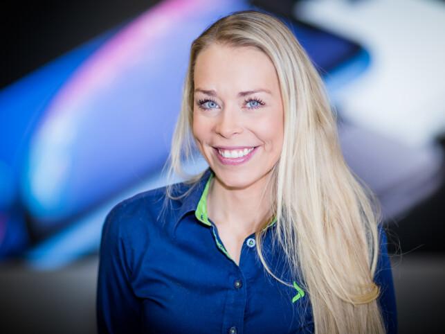 Kommunikasjonssjef Madeleine Schøyen Bergly i Elkjøp beklager køen, og nekter for at det var et triks for å skape større etterspørsel. 📸: Elkjøp