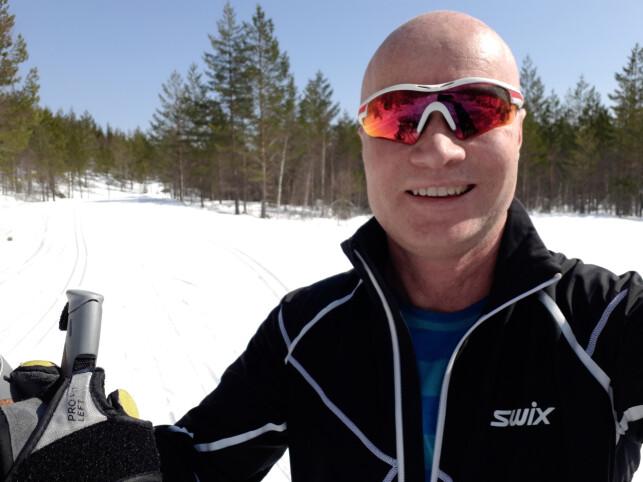- Jeg forsøker å få til noen turer i fjellet både sommer og vinter, forteller Ukas Koder Emil Urnes i Skatteetaten. 📸: Privat