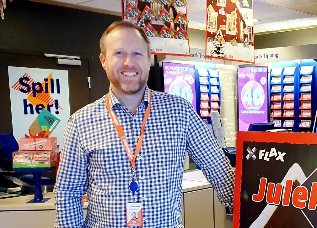 Ole Hjalmar Larsen Herje er konsulent for TRETOEN - nå på oppdrag hos Norsk Tipping som systemarkitekt. 📸: Privat