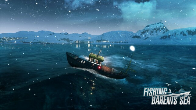 Havet i Fishing - Barents Sea baserer seg på en open source-shader. 📸: Misc Games