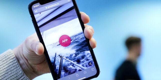 image: Appen 'App!' er en app som sier 'app, app, app'