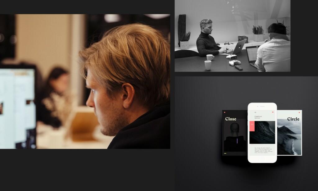 image: Kreativt tech studio søker Fullstack-utviklere