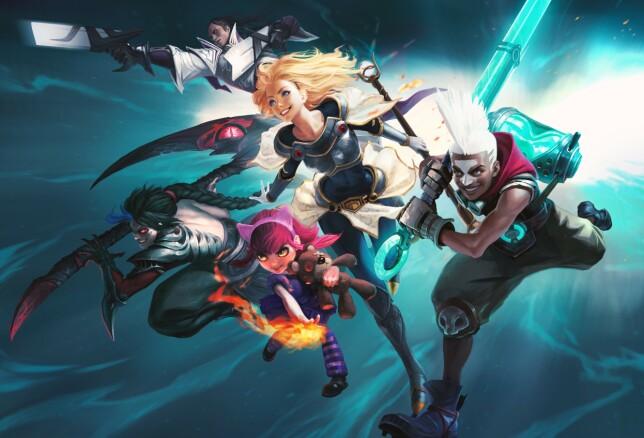 """""""Et spill med 200 millioner brukere har helt klart lyktes med å være attraktivt, og vi lar oss inspirere"""" forteller Bane NOR.📸: Riot Games"""