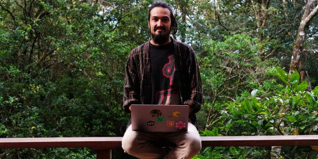 image: Leif (27) sa opp jobben og koder fra campingbil i Sentral-Amerika