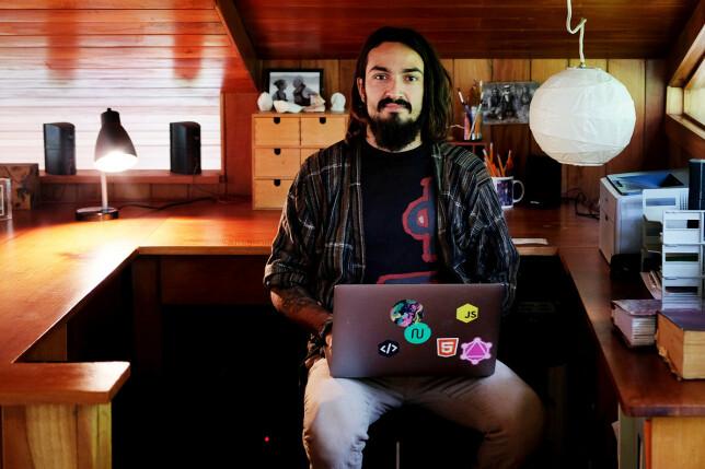 Leif Riksheim flytta til Sentral-Amerika og jobber som frilansutvikler. OhShitGit er et av hobbyprosjektene hans. 📸: Privat