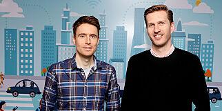 image: Datek ansetter Pål (35) og Sebastian (30)