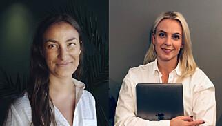 Sarah Serussi, utvikler i Variant og prosjektkoordinator for TENK Tech Camp Trondheim, og Kamilla Fon, utvikler i EqualityCheck.it og prosjektleder for TENK Tech Camp. 📸: Privat
