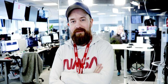 image: Tor-Henning fra Dagbladet til Statnett: - Viktig med samfunnsnyttig jobb