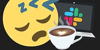 image: - Trenger kaffe, musikk og arbeidsro