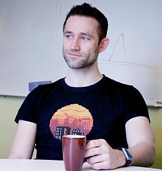 Henrik Falch har vært utvikler i Finn siden 2013. 📸: Ole Petter Baugerød Stokke