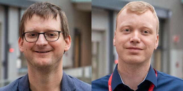 image: Rasmus (37) og Raymond (28) starter hos Itera