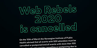 image: Web Rebels 2020 korona-avlyser