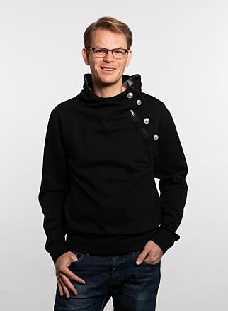 Utviklingssjef Arne Georg Gisnås Gleditsch i videotjenesten Whereby. 📸: Magnus Nordstrand / Whereby