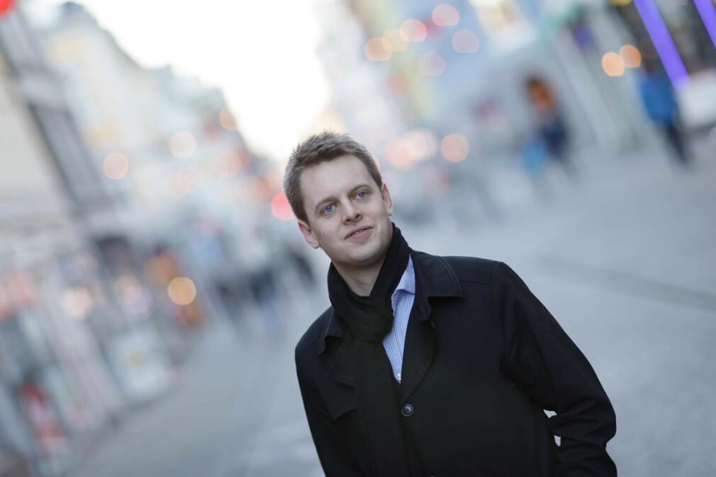 Lars Smeby i Blank forteller hvordan de bidro til sikrere passord hos ice. 📸: Blank