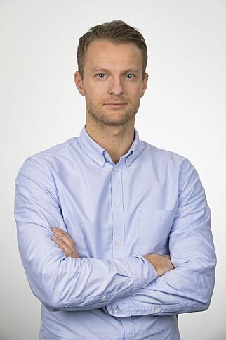 Redaksjonell utvikler Sondre Nilsen i VG. 📸: Frode Hansen / VG
