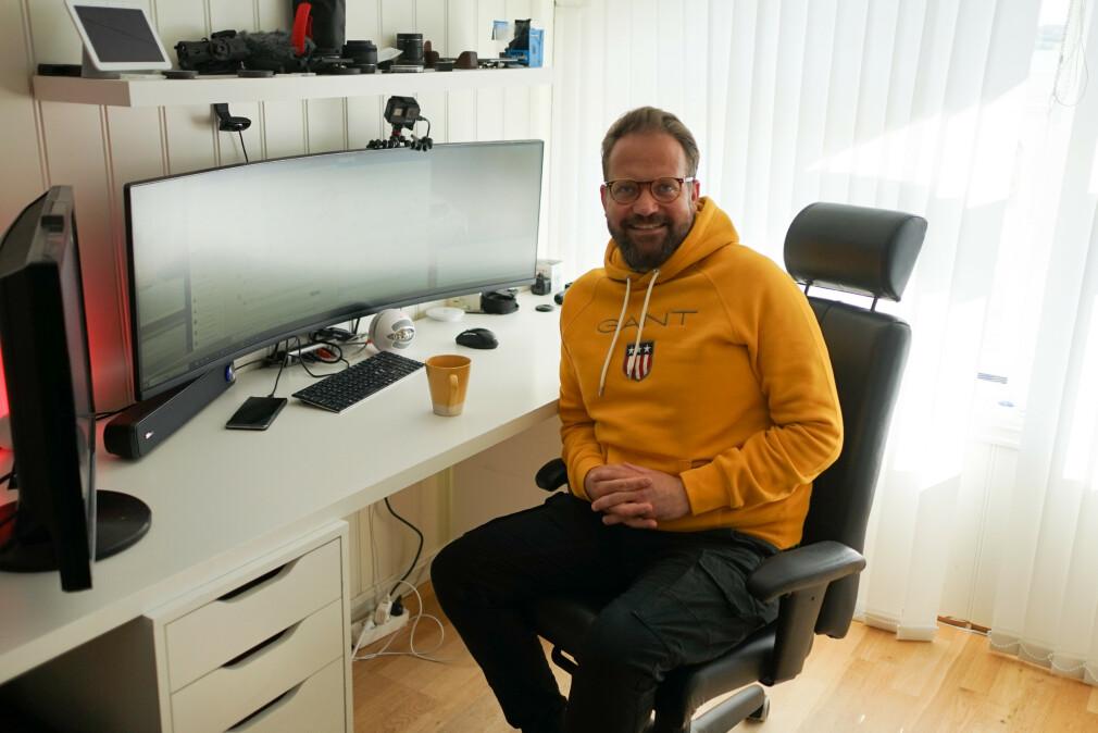 Pål-Andre Kjøniksen i Skill AS jobber med Microsoft-produkter og driver blant annet med no-code. 📸: Privat