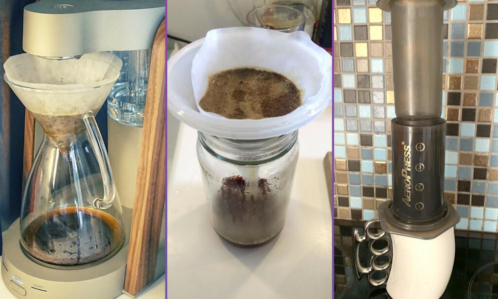 kode24 kan i dag vise deg hvordan vaskeekte, norske utviklere lager kaffe på hjemmekontoret. 📸: Rune Flobakk / Alexander Karlstad / Ola Ormset