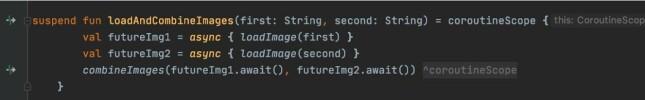 Figur 7 - structured concurrency vil sikre at en feil vil kansellere også andre scopes i samme hierarki. 📸: Privat