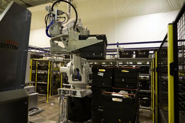 - På lageret er det en del krav til ekspertsystemer og robotikk, så her brukes teknologier som asyncio og GraphQL, forteller utviklingssjef Herman Schistad. 📸: Kolonial.no