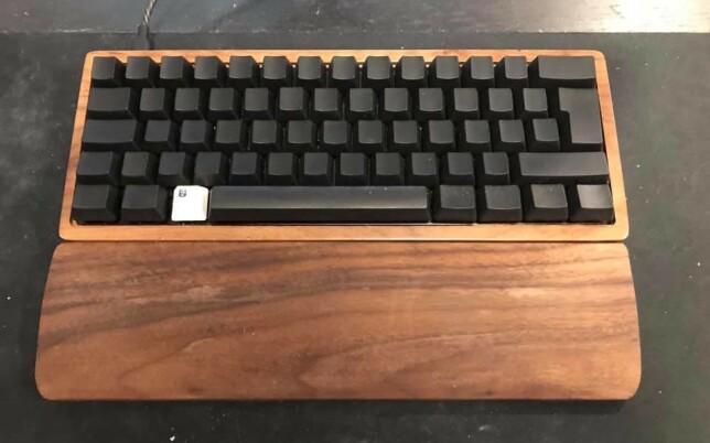 """Pål André Sundt: """"Ville prøve å lage et tastatur selv. Deilige taster og gøy å eksperimentere med layers og lage det perfekte oppsettet."""""""