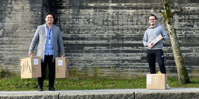image: Runar (27) får endelig komme på Shortcuts Bergen-kontor