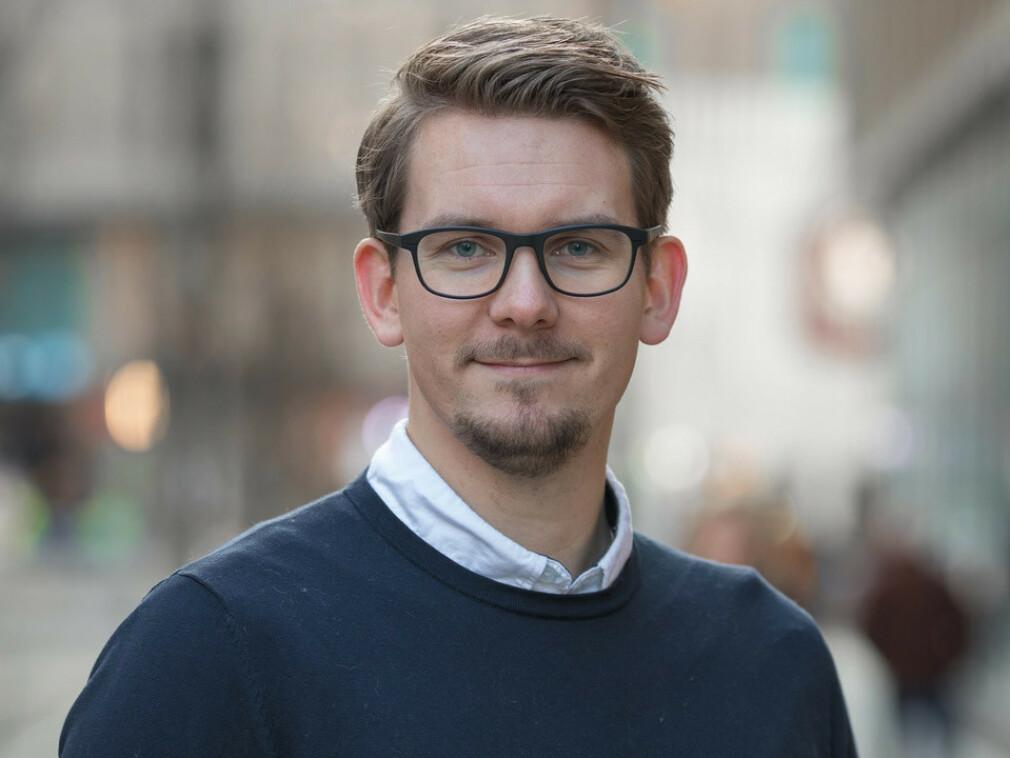 Morten Bakke Kristoffersen i Capra Consulting forteller hvorfor han mener bransjen må ansette studenter i sommer, tross korona. 📸: Privat