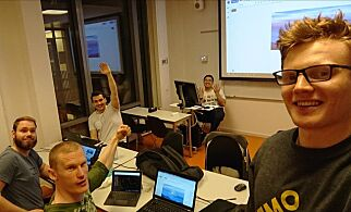 image: Studenter vant pris for 'anonymisering som en tjeneste'