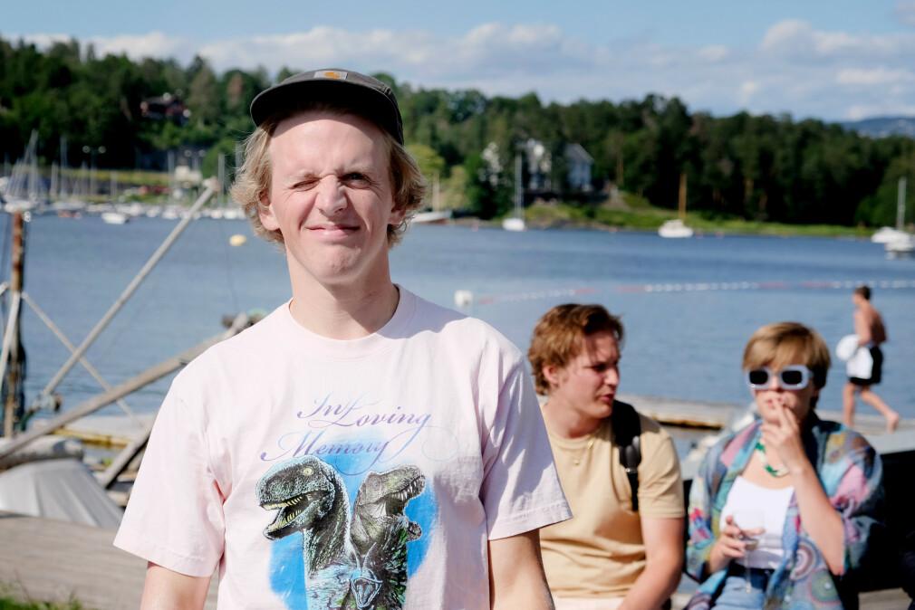 Rikard Eide er produktutvikler i norske Otovo, som leverer solcelle-paneler. 📸: Privat