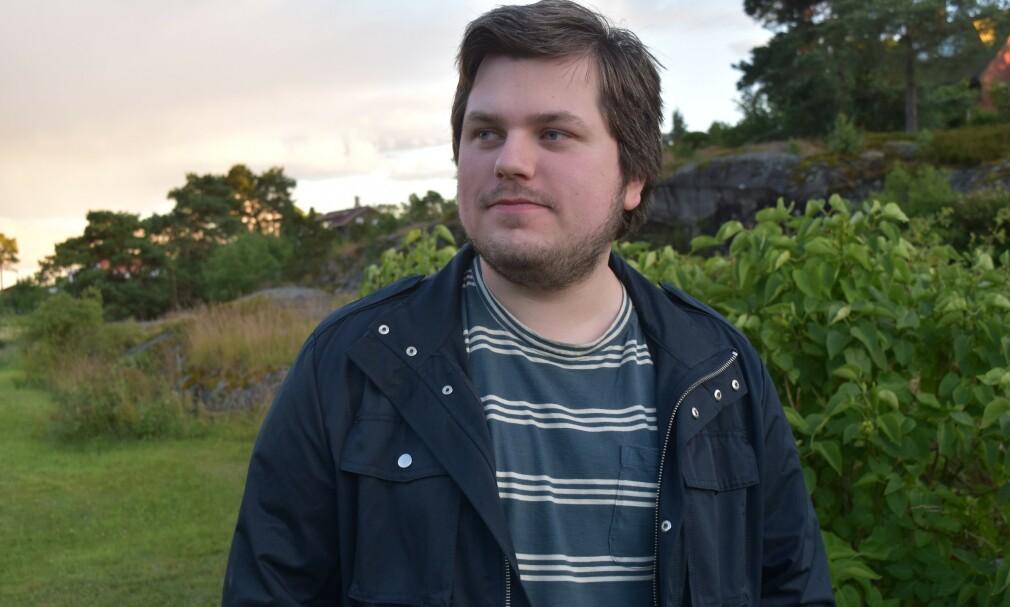 Atle Myrland Lund startet blogg i sommerferien. 📸: Privat