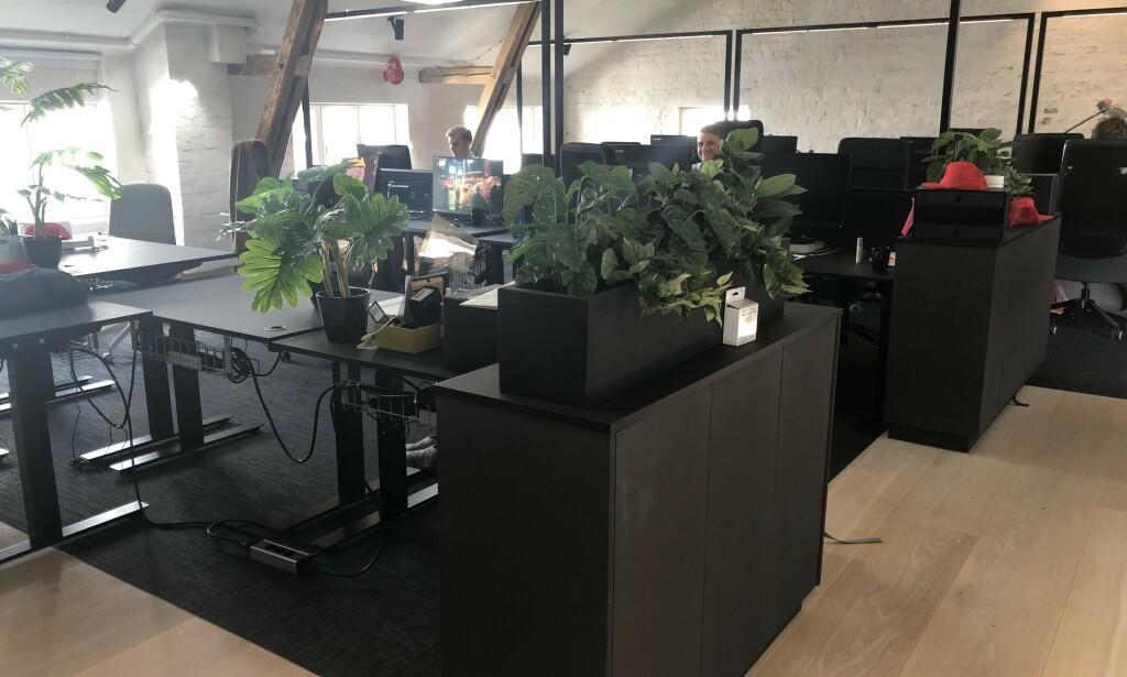 Stilrene kontorer hos reMarkable. 📸: Privat
