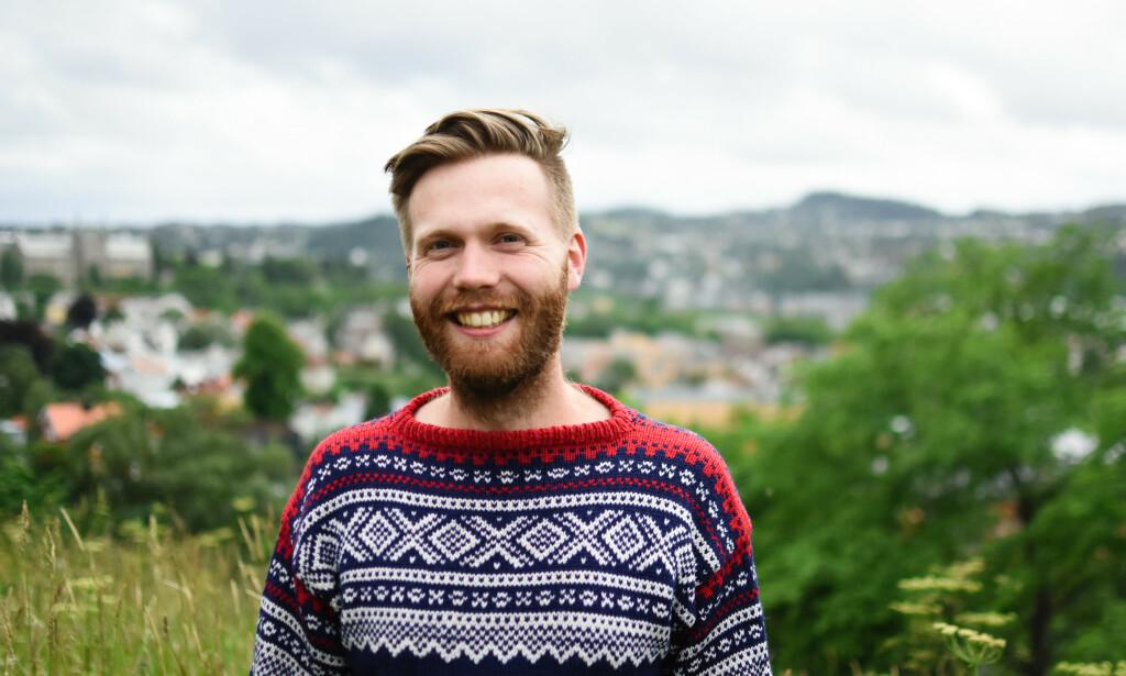 Erik André Jakobsen forteller hvordan han laget en enkel nedtelling til eksamen. 📸: Privat