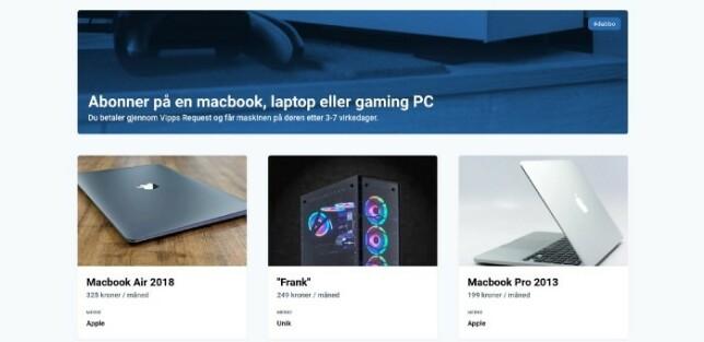 Dabbo Shop med 6 forskjellige datamaskiner. Tid: 8–10 timer.
