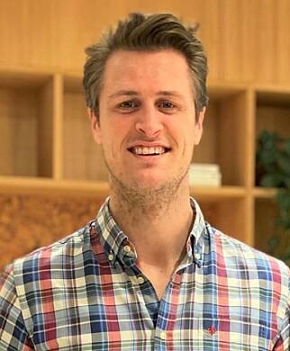 Edwin Fjeldtvedt er grunnlegger og administrerende direktør i Ordr, og driver i dag selskapet sammen med 11 andre. 📸: Ordr