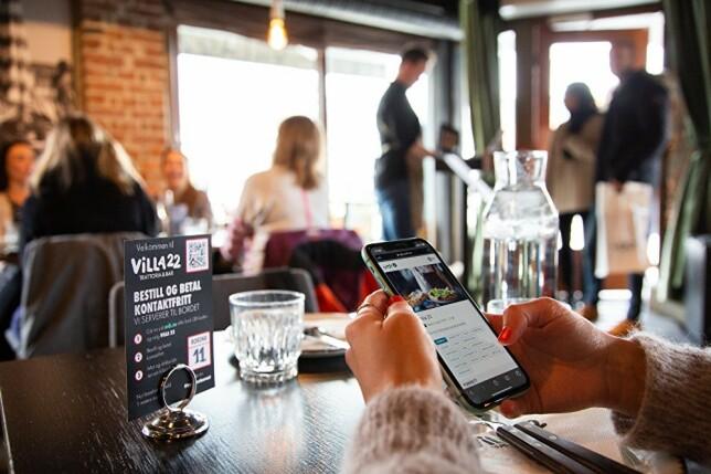 Noe ala dette ser det gjerne ut på restauranter som tilbyr bestilling og betaling via Ordr; gjennom QR-koder blir du sendt til riktig adresse for meny, og med et bordnummer forteller du hvor du ønsker maten servert. 📸: Ordr