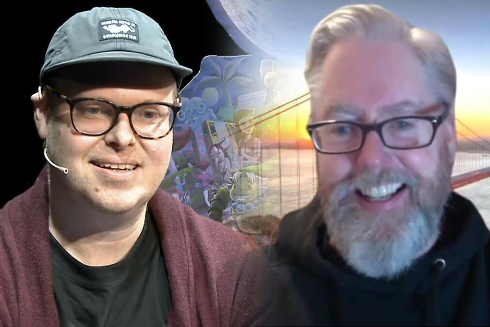 Fagredaktør på kode24 Jørgen Jacbosen møtte Diablo-utvikler David Brevik under et videointervju på årets digitale utgave av Retromessa. 📸: Retromessa